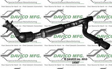 Catalytic Converter-Exact-Fit Front Right Davico Exc CA 19387