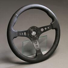 VOLANTE in Pelle Sport Volante Pelle 360mm VW Golf 1 2 CABRIO MAGGIOLINO PASSAT SCIROCCO