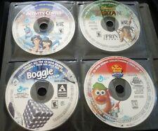 PC Game CD's Lot of 4 - Aladdin - Tarzan - Boggle - Mr. Potato Head