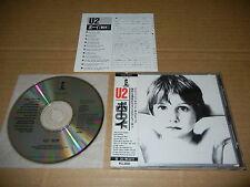"""U2 """"BOY"""" Japan 1st issue Polystar CD w/OBI P33D-20020 3300Yen"""