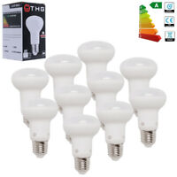 5Pack R63 8W E27 LED Reflector Bulbs Replacement Bulb Warm White Light Lamps ES