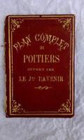 Poitiers plan complet de poitiers