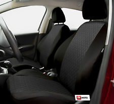 Universal Seat covers full set fits  Fiat Punto Grande black/grey