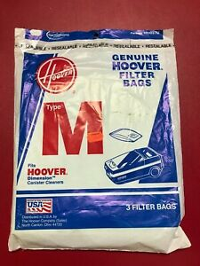 Hoover M Vacuum Bags Part # 4010037M (3pk)