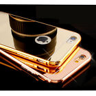 Luxury Gold Plated Aluminum Metal Cover Case for iPhone 6s / 6 Plus 5/s 5C 4s 4