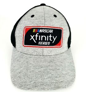 Nascar Xfinity Series Hat Cap Adjustable Gray Black OSFA NEW