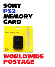 Brand New 8MB Memory Card for the Sony PlayStation 2 / PS2