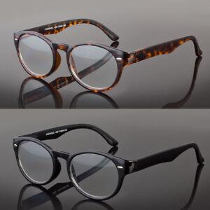 Men Women Classic Rectangular Plastic Multi 3 Focus Progressive Reading Glasses