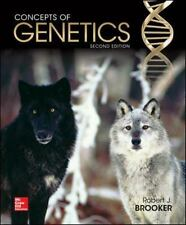 Concepts of Genetics by Brooker Robert J. Preowned Good