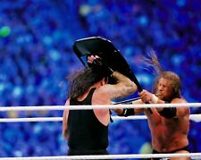 The Undertaker & Triple H HHH 8x10 Photo Picture WWE WWF Wrestlemania DX Chair