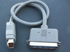 SCSI HDI30 male to Centronic 50 pin  male  Apple Power Book 2 Ft.docking  cable