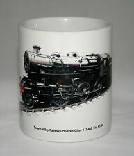 Railway Mug. Severn Valley Railway LMS Ivatt Class 4 2-6-0 - illustration.