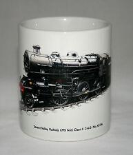 Railway Mug. Severn Valley Railway LMS Ivatt Class 4 2-6-0 - illustration.