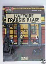 BLAKE ET MORTIMER 13. L'Affaire Francis Blake. BENOIT 1996. Edition originale