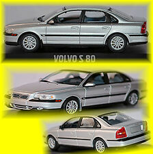 Volvo S 80 Typ:TS 1998-2006 silber silver metallic 1:43 Minichamps