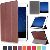 Slim Livre Cuir Étui pour Samsung Tablettes Smart Clapet Magnétique Stand Folio