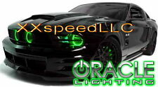 ORACLE Ford Mustang 2010-2012 GREEN LED Headlight Halo Angel Eyes Kit