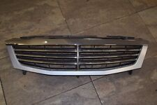 SSANGYONG REXTON FRONT RADIATOR GRILLE CHROME & LIGHT BLUE COMPLETE