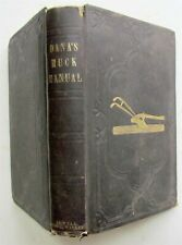 1851 DANA'S MUCK MANUAL for FARMERS antique