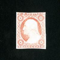 US Stamps # 11 VF Fresh dist OG LH Scott Value $275.00