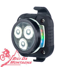 LED Azonic mod. HOP da 80 Lumen ricaricabile per bici e mtb