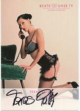Texas Patty   Erotik Model  Autogrammkarte original signiert  361279