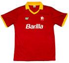 AS ROMA 1988/89-HOME RETRO FOOTBALL SHIRT-EXTRA LARGE ADULT-BNWT