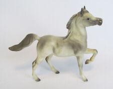 Hagen Renaker Early Maureen Love A-297 Mini Prancing Light Gray Arabian Horse