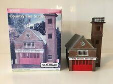 Hornby Skaledale R8626 OO Gauge Building COUNTRY FIRE STATION