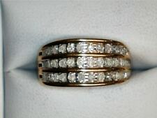 10k Yellow Gold Diamond Channel Set Band 135567