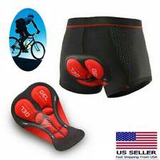 Cycling Bikes Underwear 5D Gel Padded Biking Sponge Pants Soft Women Men Shorts