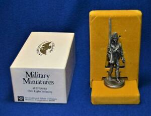 """NIB Military Miniatures 10th Light Infantry """"Redcoats"""" 1776 British Force Pewter"""