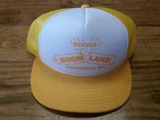Vintage 80's Retro Snapback Trucker Hat Reeves Boomland Charleston MO Fireworks