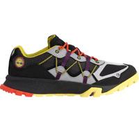 Timberland Men's Garrison Trail Low Waterproof Hiking Shoes Black Grey A25MG