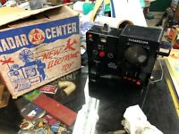 Vintage Civil Defense Radar Center Electronic Cold War Toy #200 w Box RARE 1950s