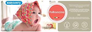 Babysanity® Poltroncina Sfoderabile Puro Cotone in fantasia Made in Italy