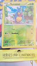 Pokemon Cards - Karrablast REVERSE HOLO #8/119 [Phantom Forces] [NM] (2014)