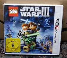 Nintendo 3DS NDS Lite Spiel Star Wars 3 Clone Wars ohne Anleitung