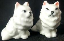 Bug House Vintage Set 2 Kitty Cat Kitten Figurines Porcelain Mini Figures Lot