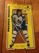 1975 76 Carlton Craft SEALED Hockey Heroes Stand-Up ERROL THOMPSON TORONTO LEAFS