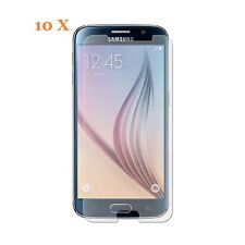 10 X Clear  Screen Protector Film Foil Saver For Samsung Galaxy S6