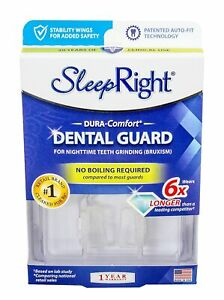 SleepRight Dura Comfort Dental Mouth Guard No Teeth Grinding Bruxism Sleep Right