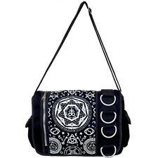 Banned Apparel Pentagram Occult Symbol Gothic Punk Tattoo Messenger Bag BBN790