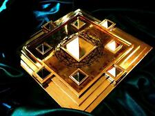 VASATI VASTU PYRAMID GOLDEN HOLOGRAPHIC ACTIVATED POWER YANTRA