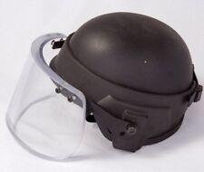 Bullet Proof Ballistic Face Shield  Glass 3A Bulletproof Helmet Body Armor Mask