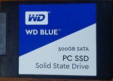 """Western Digital Blue 500GB SSD,Internal,6.35 cm (2.5"""") (WDS500G1B0A)"""