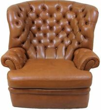 Leather Solid Armchairs