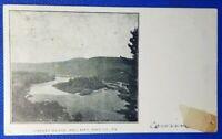 1907 Vintage Pennsylvania Postcard:  Cherry Island, Mill Rift, Pike County, PA