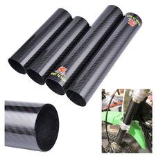 Fibre de carbone Protège-cache-fourche avant pour CRF250/ 450R YZ250 450F YZ250X