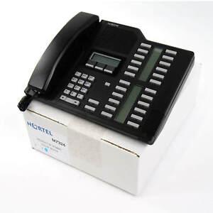 Nortel Norstar M7324 Black Meridian Phone(NT8B40) - Complete Bulk w Button Kit